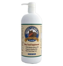 Grizzly Pet Products Salmon Oil Dog Supplement 32oz