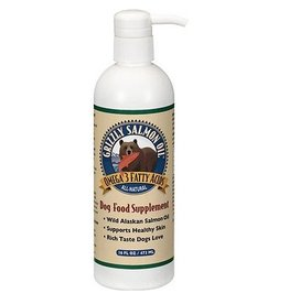 Grizzly Pet Products Salmon Oil Dog Supplement 16oz