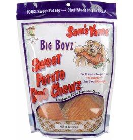 Sam's Yams Big Boyz Sweet Potato Dog Chew 15oz
