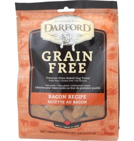 Darford Oven-Baked Grain Free Bacon Recipe Dog Treats 12oz