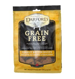 Darford Oven-Baked Grain Free Peanut Butter Recipe Dog Treats 12oz