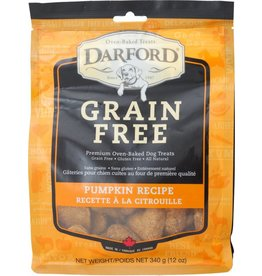 Darford Oven-Baked Grain Free Pumpkin Recipe Dog Treats 12oz