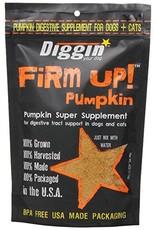 Diggin Your Dog Firm Up! Pumpkin Dog & Cat Supplement 4oz