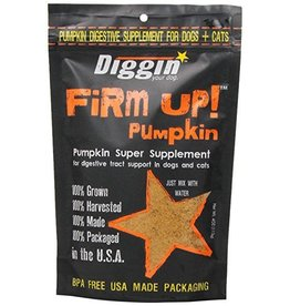 Diggin Your Dog Firm Up! Pumpkin Dog & Cat Supplement 4oz