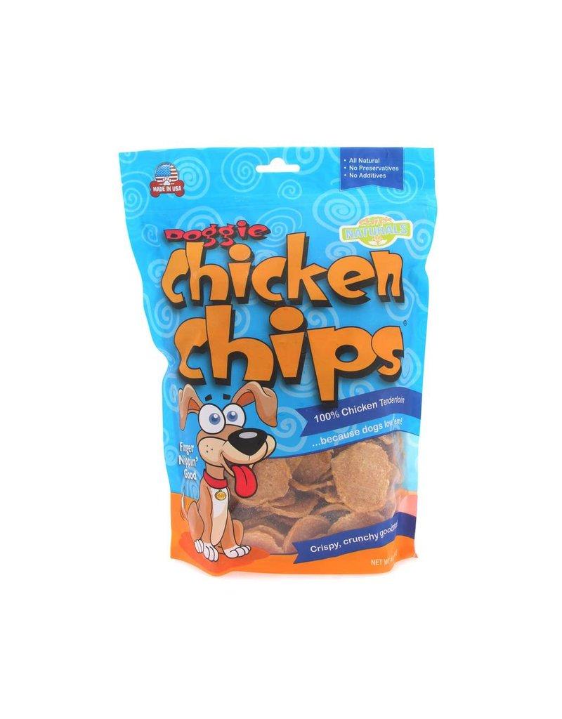 Doggie Chicken Chips Grain-Free Dog Treat 4oz