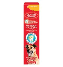 Sentry Sentry Petrodex Enzymatic Toothpaste for Dogs Poultry Flavor 2.5oz