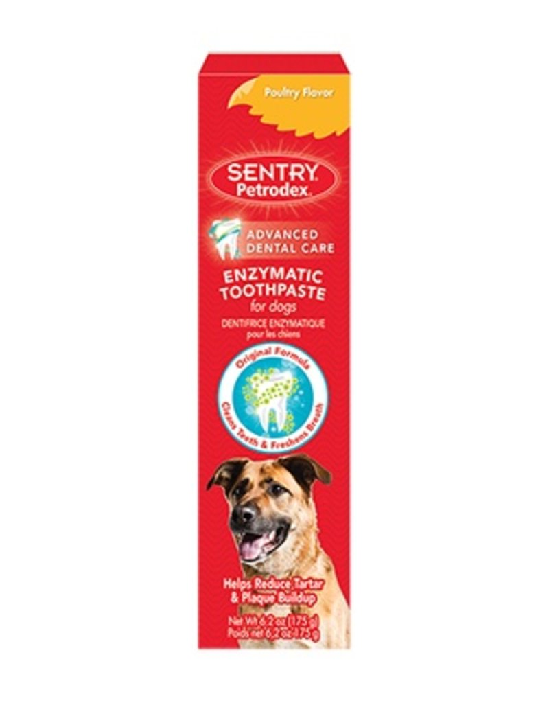 Sentry Petrodex Enzymatic Toothpaste for Dogs Poultry Flavor 2.5oz
