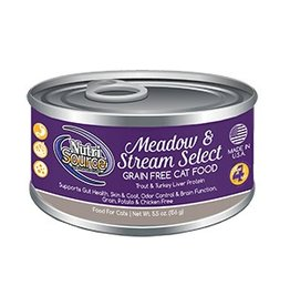 NutriSource Super Premium Pet Foods NutriSource Grain Free Meadow & Stream Select Canned Cat Food 5.5oz