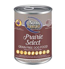 NutriSource Super Premium Pet Foods NutriSource Prairie Select Canned Dog Food 13oz