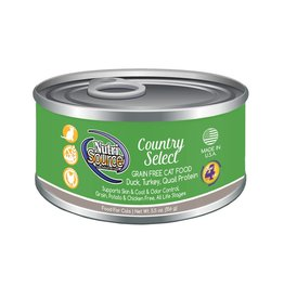 NutriSource Super Premium Pet Foods NutriSource Grain Free Country Select Canned Cat Food 5.5oz