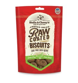 Stella & Chewy's Stella & Chewy's Raw Coated Biscuits Cage-Free Duck Dog Treats 9oz