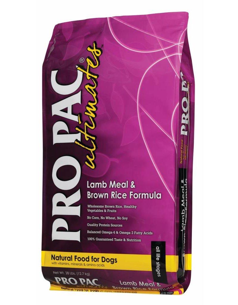 Propac Ultimates Lamb and Brown Rice Dry Dog Food 28lb