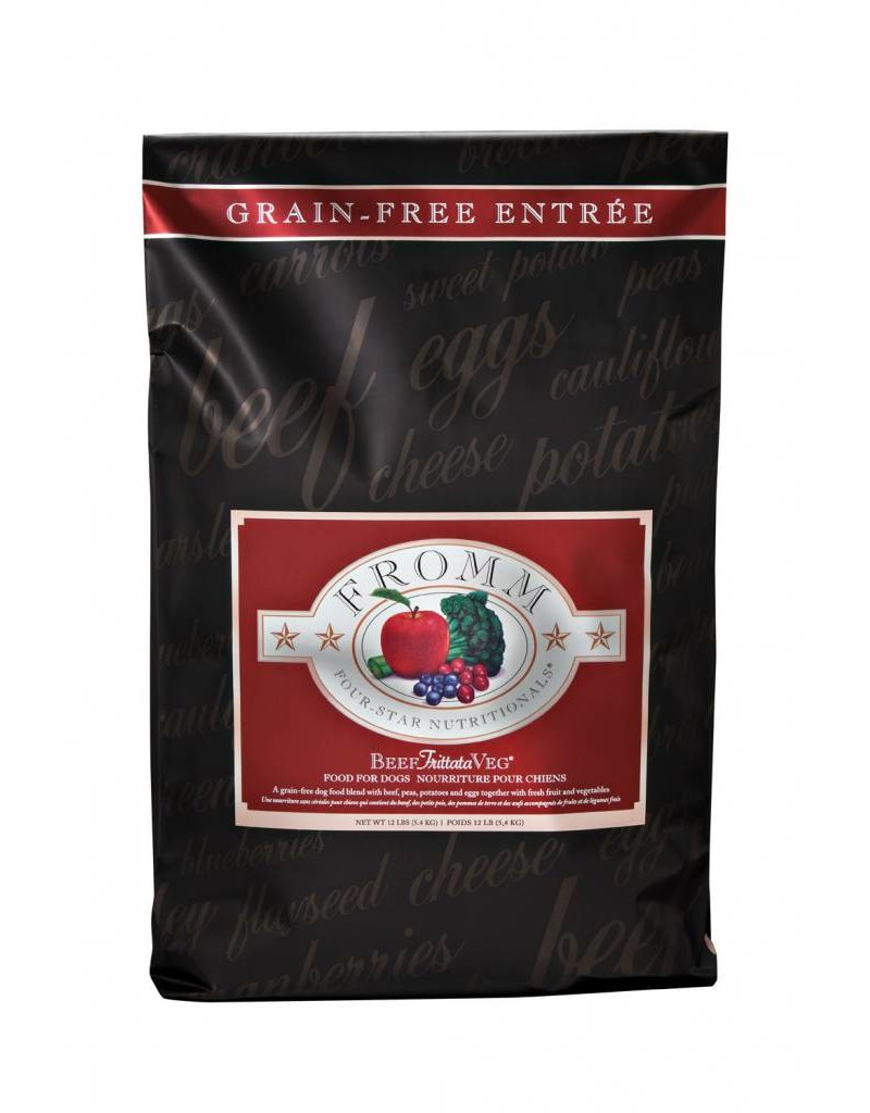 Fromm Fromm Four Star Grain Free Beef Frittata Veg Dry Dog Food