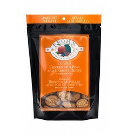 Fromm Family Foods Fromm Four Star Oven-Baked Chicken with Peas & Carrots Recipe Dog Treats 8oz