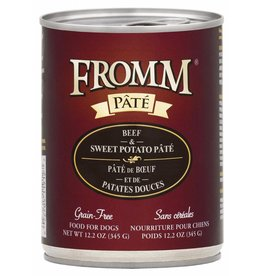 Fromm Fromm Grain Free Beef & Sweet Potato Pate Canned Dog Food 12.2oz