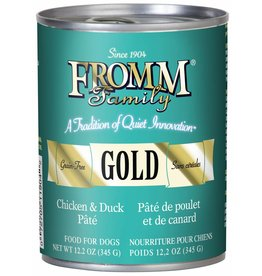 Fromm Fromm Grain Free Chicken & Duck Pate Canned Dog Food 12.2oz