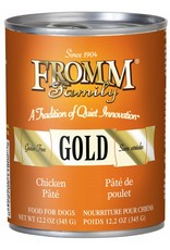 Fromm Fromm Grain Free Chicken Pate Canned Dog Food 12.2oz