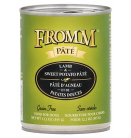 Fromm Fromm Grain Free Lamb & Sweet Potato Pate Canned Dog Food 12.2oz