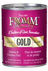 Fromm Fromm Grain Free Salmon & Chicken Pate Canned Dog Food 12.2oz