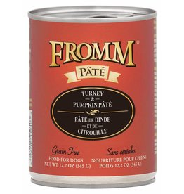 Fromm Family Foods Fromm Turkey & Pumpkin Pate Canned Dog Food 12.2oz