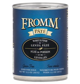 Fromm Family Foods Fromm Whitefish & Lentil Pate Canned Dog Food 12.2oz