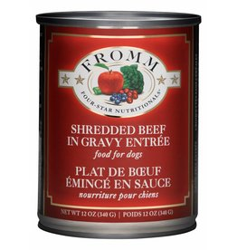 Fromm Family Foods Fromm Shredded Beef Entree Canned Dog Food 12oz