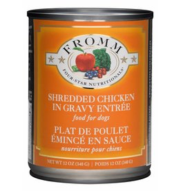 Fromm Fromm Shredded Chicken Entree Canned Dog Food 12oz