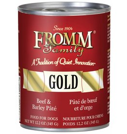 Fromm Family Foods Fromm Beef & Barley Pate Canned Dog Food 12.2oz