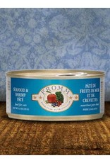 Fromm Fromm Seafood & Shrimp Pate Canned Cat Food 5.5oz