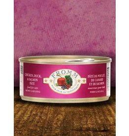 Fromm Fromm Grain Free Chicken, Duck & Salmon Pate Canned Cat Food 5.5oz