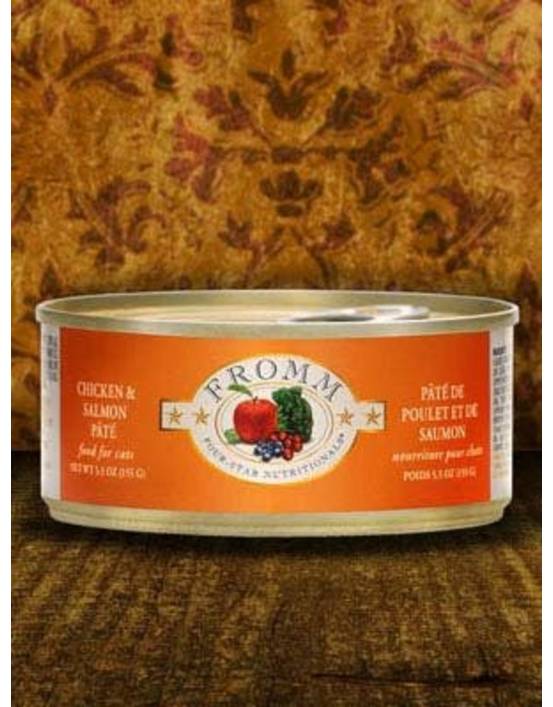 Fromm Fromm Grain Free Chicken & Salmon Pate Canned Cat Food 5.5oz