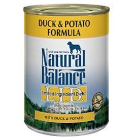 Natural Balance Duck & Potato Canned Dog Food 13oz