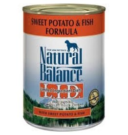 Natural Balance Fish & Sweet Potato Canned Dog Food 13oz