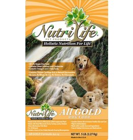 Nutri Life All Gold Formula Dry Dog Food 40lb