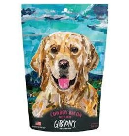 Gibson's Cowboy Bacon With Beef Jerky Dog Treats 3oz
