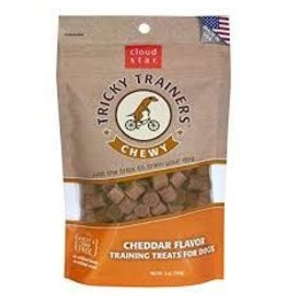 Cloud Star Cloud Star Tricky Trainers Chewy Cheddar Flavor Dog Treats 5oz