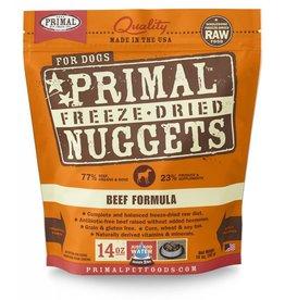 Primal Pet Foods Primal Freeze-Dried Nuggets Beef Formula Dog Food 14oz