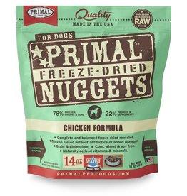Primal Freeze-Dried Nuggets Chicken Formula Dog Food 14oz