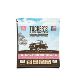 Tucker's Raw Frozen Complete Salmon-Pumpkin Formula Dog Food 3lb