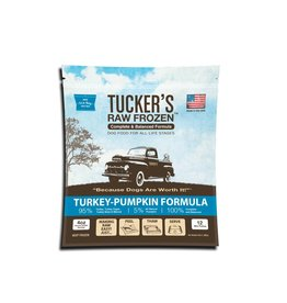Tucker's Tucker's Raw Frozen Complete Turkey-Pumpkin Formula Dog Food 3lb