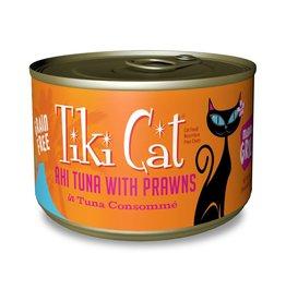 Tiki Pets Tiki Cat Manana Grill Ahi Tuna with Prawns Canned Cat Food 6oz