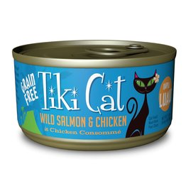 Tiki Pets Tiki Cat Napili Luau Wild Salmon & Chicken Canned Cat Food 2.8oz
