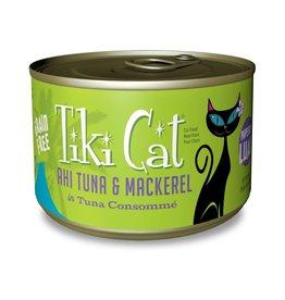 Tiki Pets Tiki Cat Papeekeo Luau Ahi Tuna & Mackerel Canned Cat Food 6oz