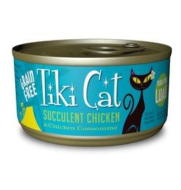 Tiki Pets Tiki Cat Puka Puka Luau Succulent Chicken Canned Cat Food 2.8oz