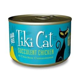 Tiki Pets Tiki Cat Puka Puka Luau Succulent Chicken Canned Cat Food 6oz