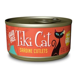 Tiki Pets Tiki Cat Tahitian Grill Sardine Cutlets Canned Cat Food 2.8oz