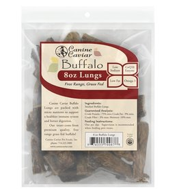 Canine Caviar Buffalo Lungs Dog Treats 8oz bag