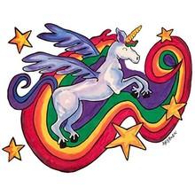 Artburn Artburn Pillowcase Rainbow Unicorn