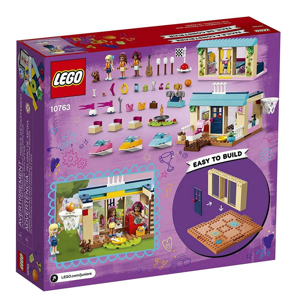 Lego Junior Friends Stephanies Lakeside House Minds Alive Toys