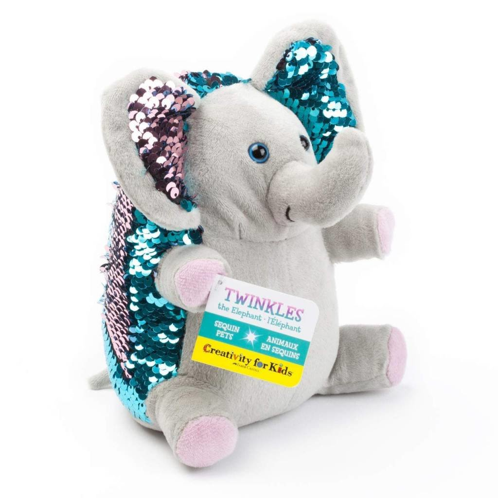 Creativity for Kids Mini Sequin Pets Twinkles the Elephant